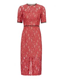 Alexis Remi Midi Lace Dress at Intermix