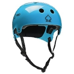 Alexs blue helmet on Happy Endings at Amazon