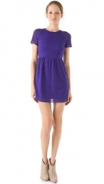 Alexs blue lace dress at Shopbop at Shopbop