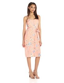 Ali  amp  Jay s Flower Frolicking Printed Belted Dress at Amazon