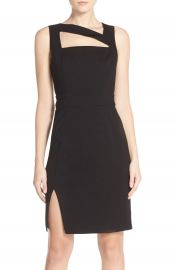 Ali and Jay Cutout Ponte Sheath Dress at Nordstrom