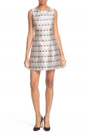 Alice   Olivia Lindsey Fit   Flare Dress at Nordstrom