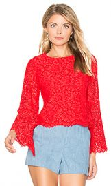 Alice   Olivia Pasha Crop Top in Poppy from Revolve com at Revolve