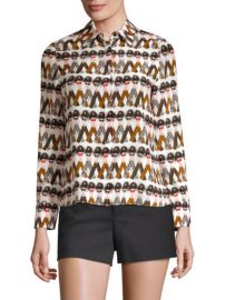 Alice and Olivia Willa Shirt at Saks Fifth Avenue