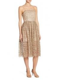 Alice   Olivia - Alma Lace Party Dress at Saks Fifth Avenue