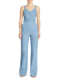 Alice   Olivia - Cristal Wide-Leg Overall at Saks Off 5th