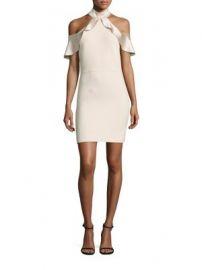 Alice   Olivia - Ebony Cold-Shoulder Dress at Saks Fifth Avenue