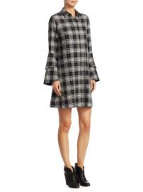 Alice   Olivia - Jem Plaid Shirtdress at Saks Fifth Avenue