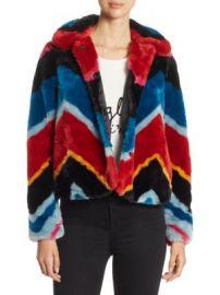 Alice   Olivia - Jerrie Faux Fur Coat at Saks Fifth Avenue