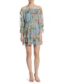 Alice   Olivia - Waylon Blouson Dress at Saks Fifth Avenue