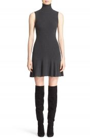 Alice   Olivia  Greta  Drop Waist Sweater Dress at Nordstrom