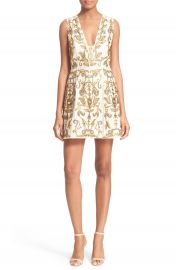 Alice   Olivia  Prescilla  Embellished Dress at Nordstrom