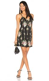 Alice   Olivia Alves Dress in Vintage Bouquet  amp  Black from Revolve com at Revolve