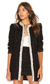 Alice   Olivia Andreas Midnight Jacket in A002 from Revolve com at Revolve