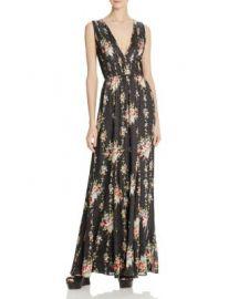 Alice   Olivia Ava Printed Silk Maxi Dress at Bloomingdales