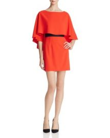 Alice   Olivia Cairo Tiered-Overlay Dress at Bloomingdales