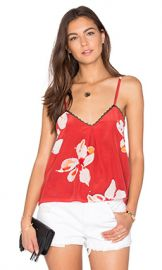 Alice   Olivia Carlene Tank in Summer Lily from Revolve com at Revolve