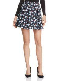 Alice   Olivia Connor Printed Skirt - 100  Bloomingdale  039 s Exclusive at Bloomingdales