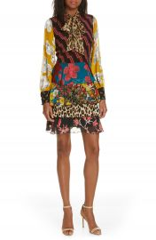 Alice   Olivia Dasha Ruffle Tiered Dress   Nordstrom at Nordstrom