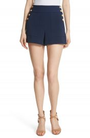 Alice   Olivia Donald High Waist Sailor Shorts at Nordstrom