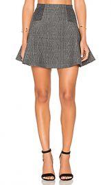 Alice   Olivia Elsie Skirt in Charcoal from Revolve com at Revolve