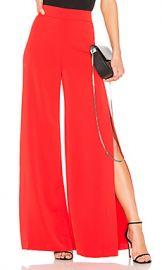 Alice   Olivia Florinda Wide Leg Pant in Perfect Poppy from Revolve com at Revolve