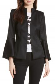 Alice   Olivia Ivana Waterfall Sleeve Blazer at Nordstrom