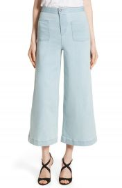 Alice   Olivia Johnny High Waist Flare Ankle Jeans at Nordstrom