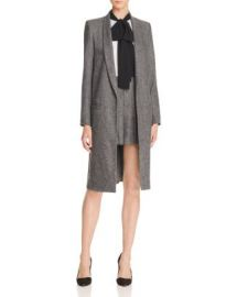 Alice   Olivia Kylie Shawl Collar Long Jacket at Bloomingdales