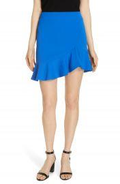 Alice   Olivia Marcella Asymmetrical Ruffle Skirt at Nordstrom