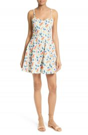 Alice   Olivia Nella Stretch Cotton Slipdress at Nordstrom