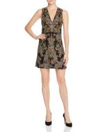 Alice   Olivia Pamela Embellished Silk Dress at Bloomingdales
