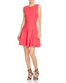 Alice   Olivia Paulie Pintuck Dress at Bloomingdales
