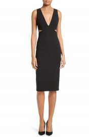 Alice   Olivia Riki Cutout Sheath Dress at Nordstrom