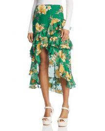 Alice   Olivia Sasha Asymmetric Tiered Ruffle Skirt at Bloomingdales