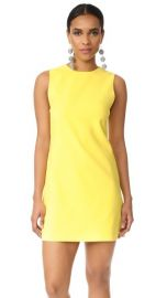 Alice + Olivia Coley Crew Neck A-Line Dress at Shopbop