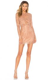 Alice McCall Not Your Girl Dress in Cinnamon from Revolve com at Revolve