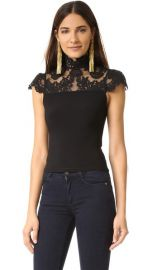 Alice Olivia Dandi Lace Blouse at Shopbop