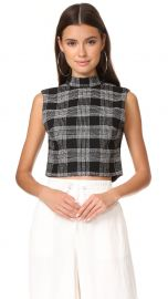 Alice Olivia Garland Sleeveless Mock Neck Top at Shopbop
