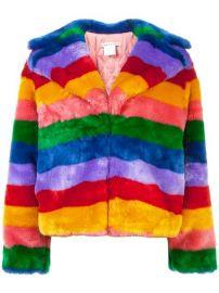 Alice Olivia Thora Faux Fur Jacket - Farfetch at Farfetch