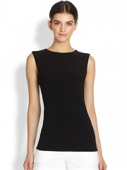 Alice and Olivia - Belle Open-Back Bow Top at Saks Fifth Avenue