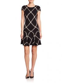 Alice and Olivia - Plaid Drop-Waist Dress at Saks Fifth Avenue