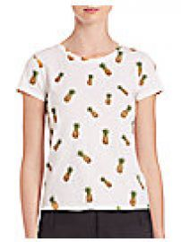 Alice and Olivia - Robin Embellished Tee at Saks Fifth Avenue