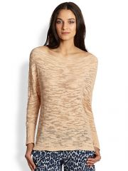 Alice and Olivia - Slub Slouchy Pullover Sweater at Saks Fifth Avenue
