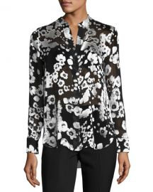 Alice and Olivia Belle Blouse at Neiman Marcus