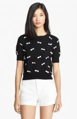 Alice and Olivia Bow Detail Sweater at Nordstrom