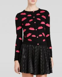 Alice and Olivia Cardigan - Pout Embroidered at Bloomingdales