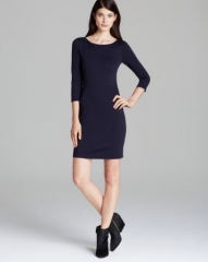 Alice and Olivia Dress - Xenah Cross Detail at Bloomingdales