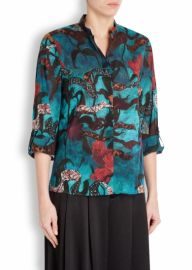 Alice and Olivia Eloise Printed Blouse at Harvey Nichols