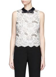 Alice and Olivia Manie Top at Lane Crawford